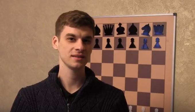 Настінна шахова дошка