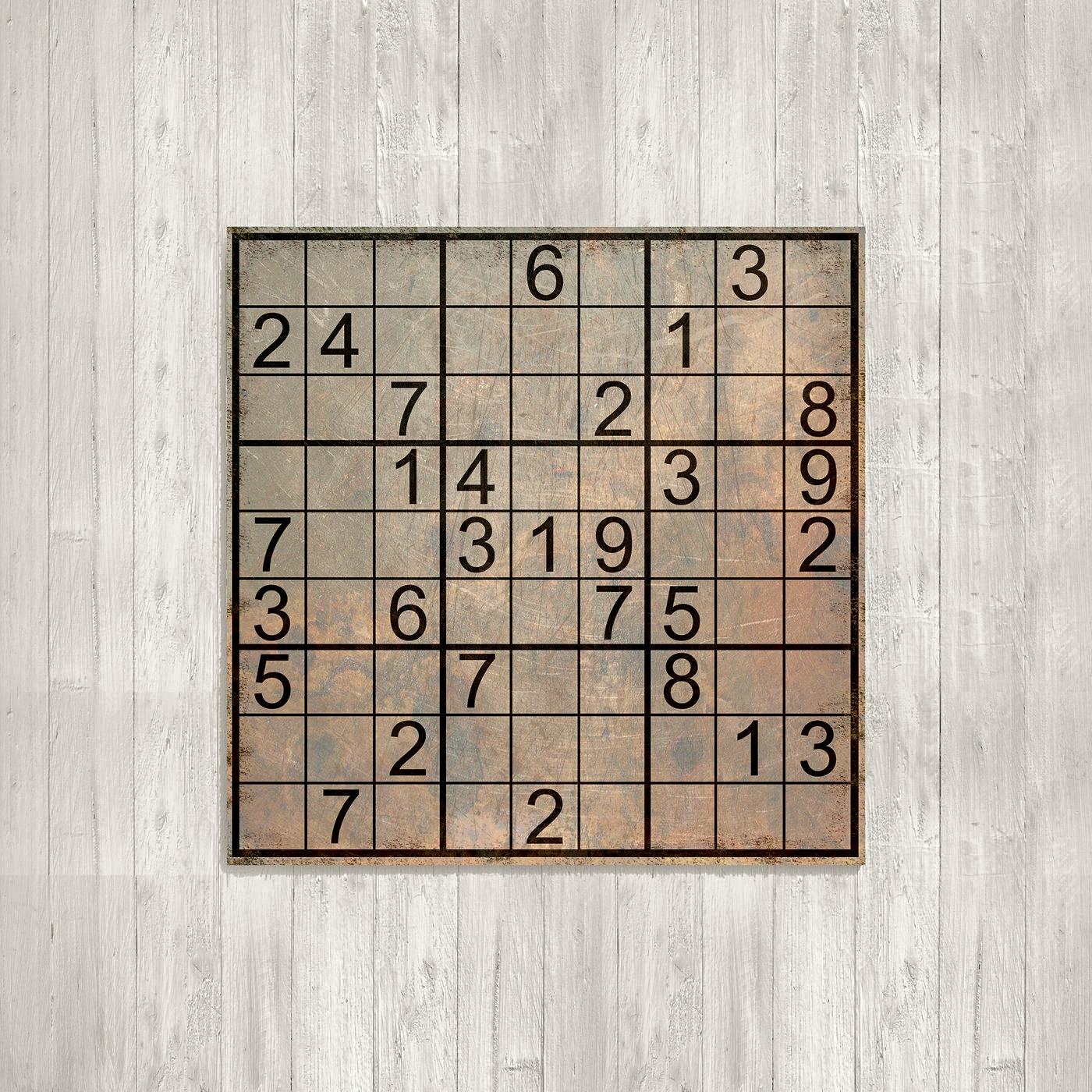 Логічна японська головоломка з числами Cудоку