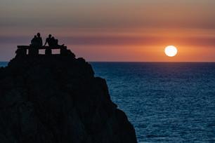 Sunset - Punta nati