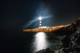Cap d'Artrutx lighthouse !