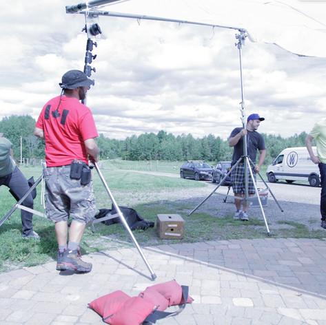 Video production crew in Toronto