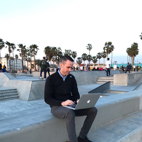 Mike Edgell @ Snapchat in California