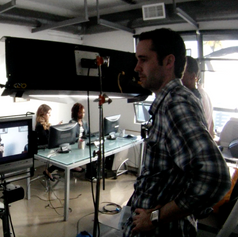 Mike Edgell directing, Los Angeles