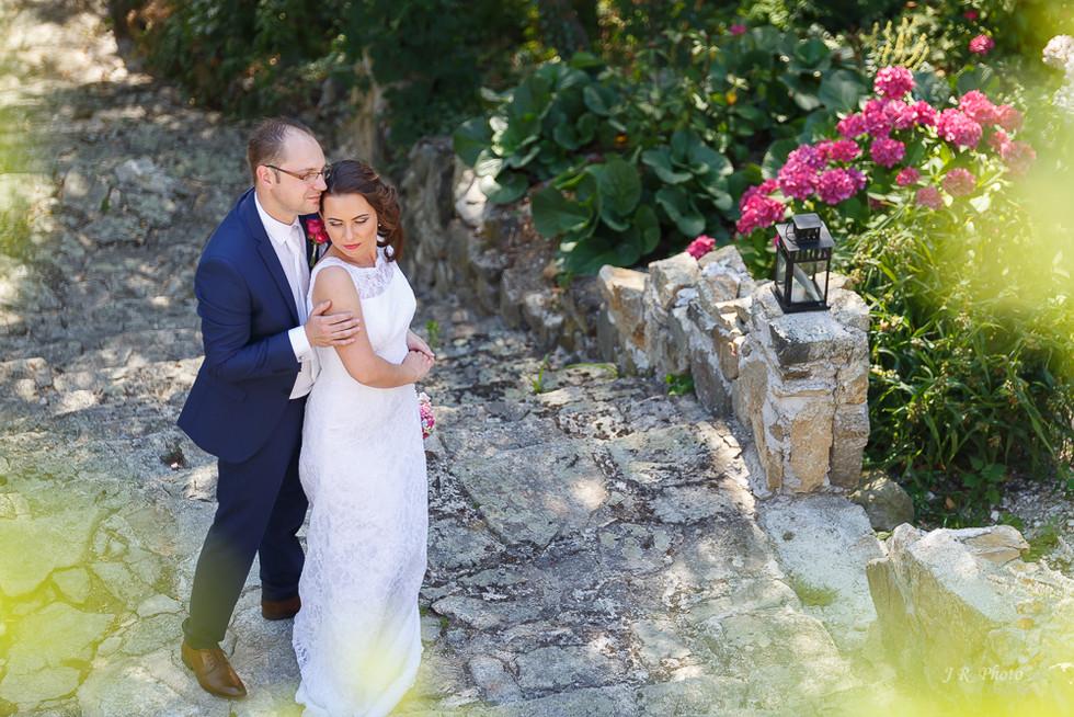 svadba v prírode