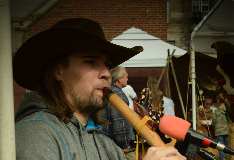 Ryan LittleEagle Powwow Performance
