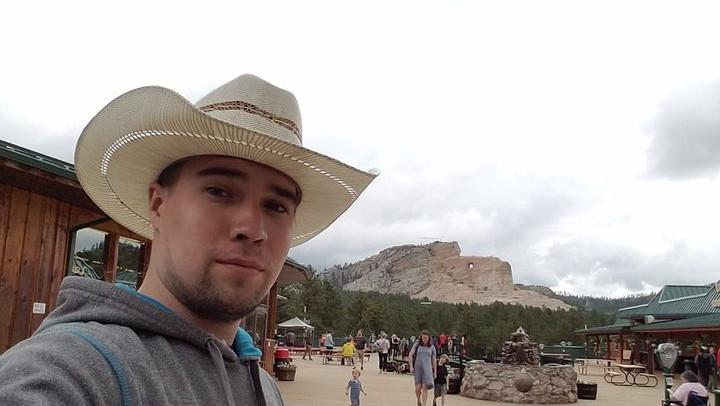 Crazy Horse Memorial in Black Hills SD