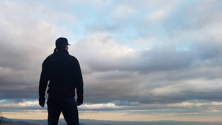 Overlooking the Cohutta Wilderness in North Georgia