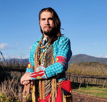 Ryan LittleEagle at Kaya Vineyards