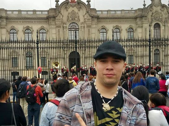 Presidents Palace in Lima Peru