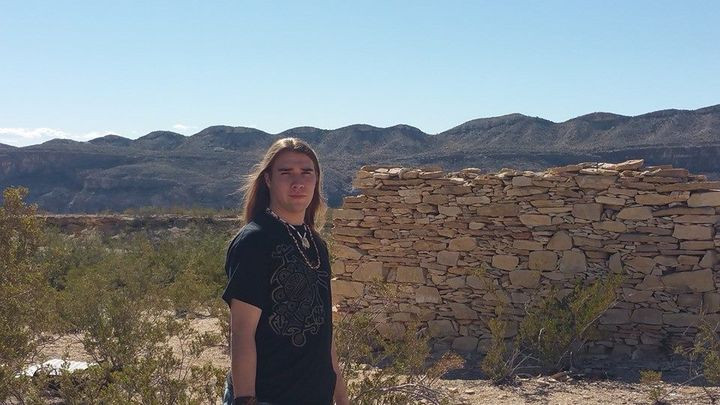 Ghost Town in West Texas