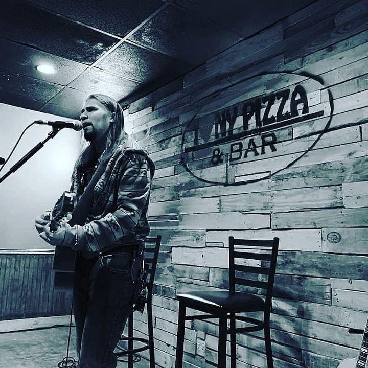 Ryan LittleEagle at I Love NY Pizza