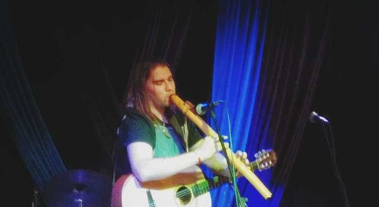 Ryan LittleEagle at the Gypsy Rose