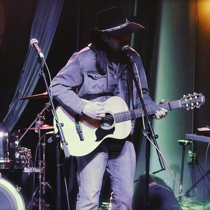 Ryan LittleEagle at the Katie Martin Jam