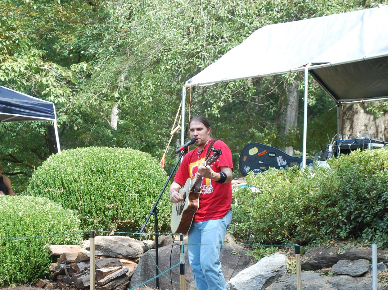 Ryan LittleEagle at Indian Springs