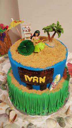 Hawaiian Beach theme