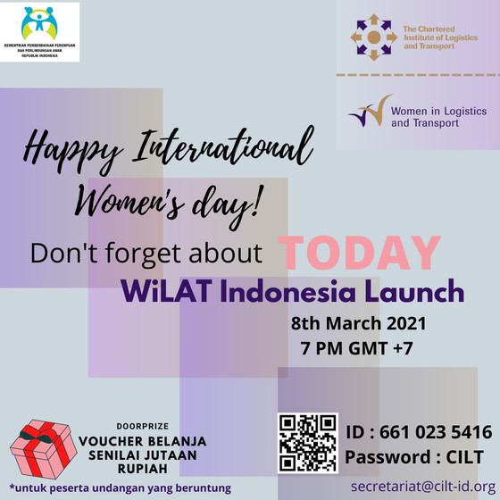 WiLAT Indonesia Launch TODAY at 19.00 PM Jakarta time, please come and join us!