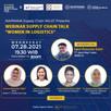 Women in Logistics webinar Ikaprama Supply Chain Club with WiLAT Indonesia just now.
