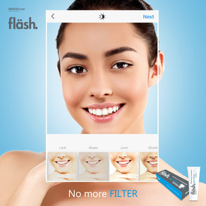 Creative Social Media Campaign for flash Toothpaste