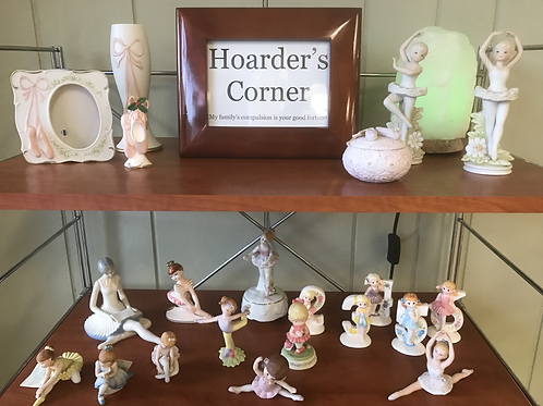Assorted Ballerina Figurines