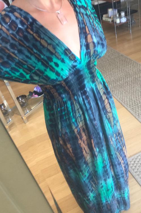 Bali Batik Long Dress