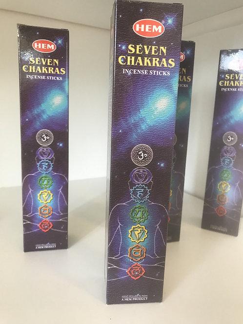 7 Chakra Incense