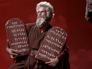 The Ten Commandments of Writing