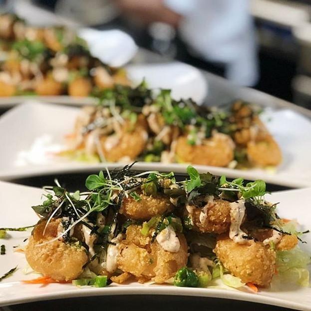 Salted Duck Yolk Shrimp Tempura