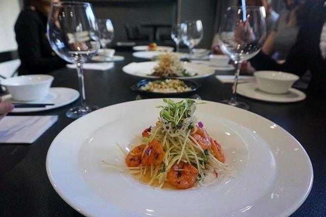 Papaya Mango & Shrimp Salad