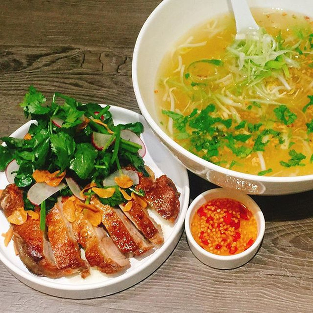 Crispy Chicken Noodle Soup