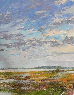 Chincoteague Sunset on the Marsh