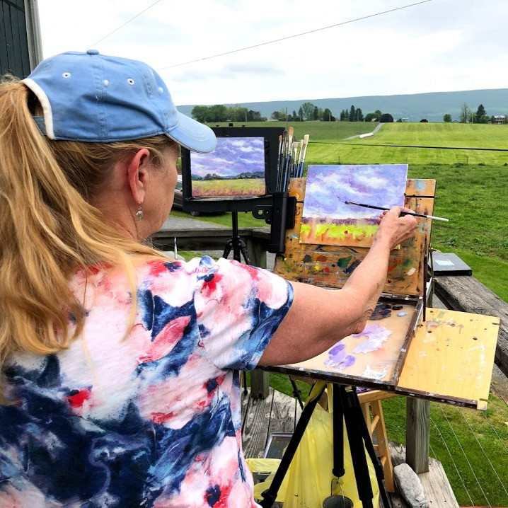 September 2021 Hameau Farm Studio Artist Retreat