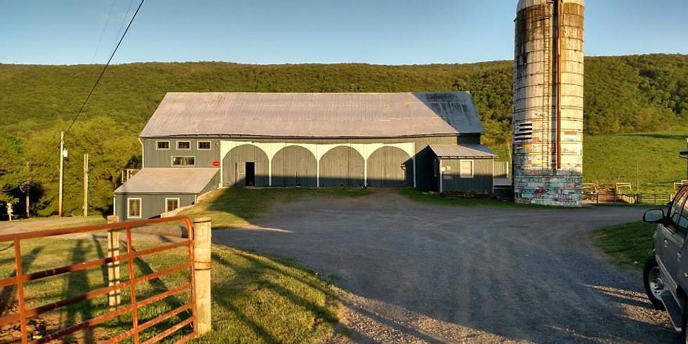 May 2018 Hameau Farm Studio Artist Retreat