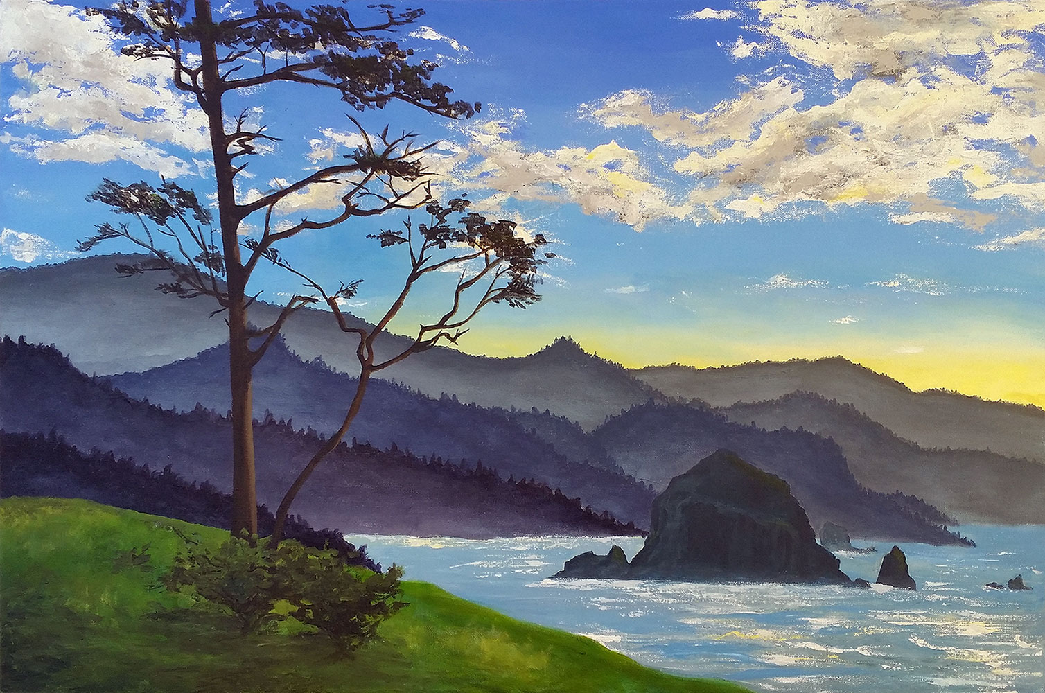 Haystack Rock - Commission