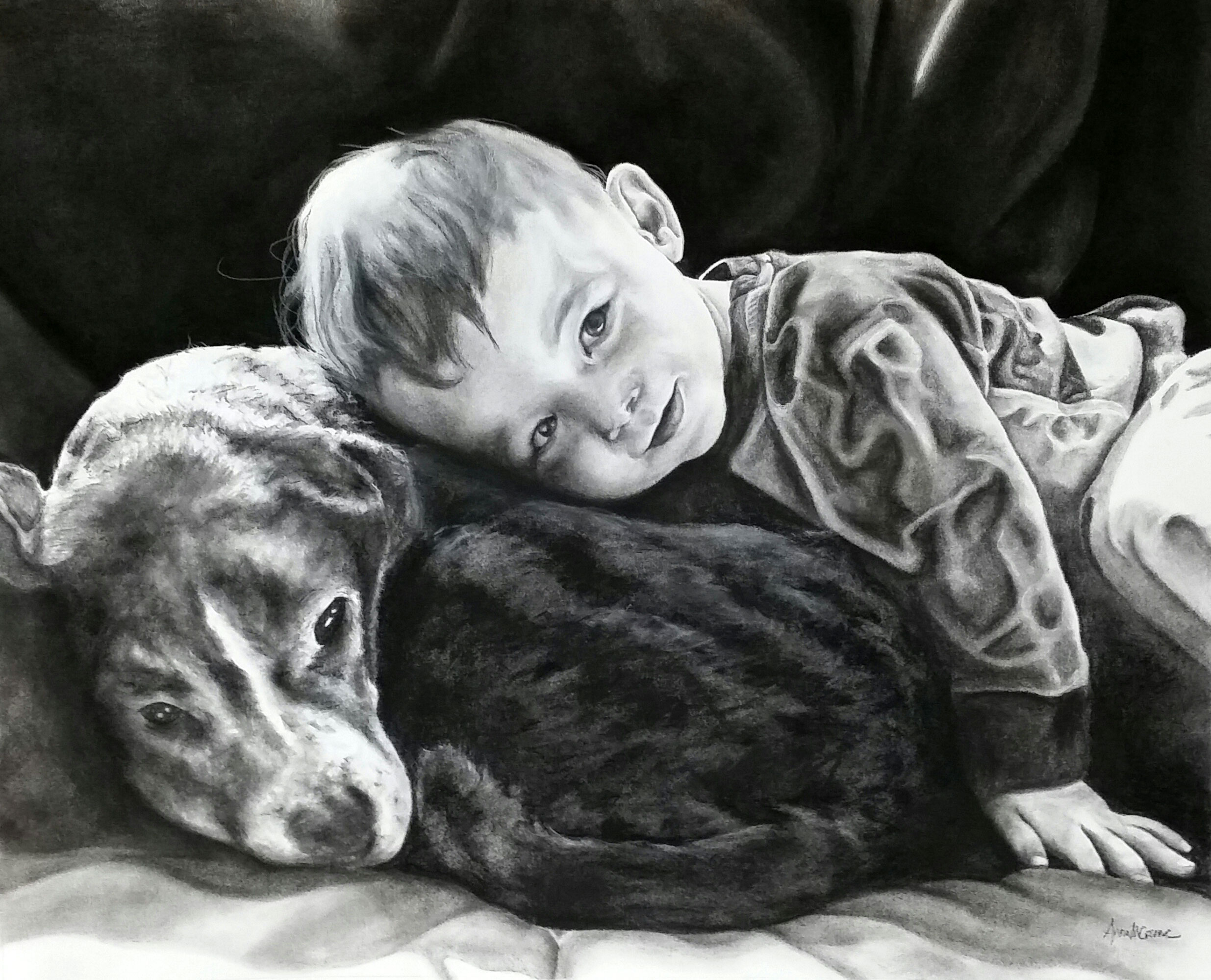 Child Portrait - Commission
