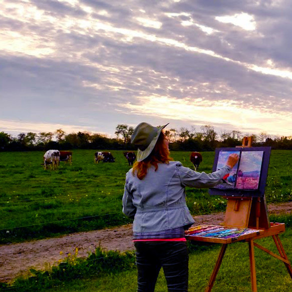 May 2022 Hameau Farm Studio Artist Retreat