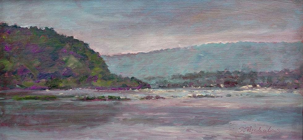 Susquehanna Misty Morning