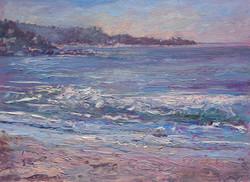 Carmel Beach Waves