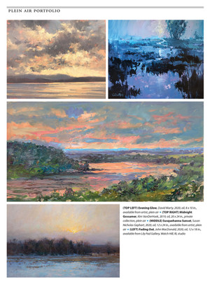 PleinAir Magazine: Plein Air Portfolio - Sunrise, Sunset