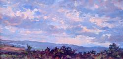 Sunset in Coburn