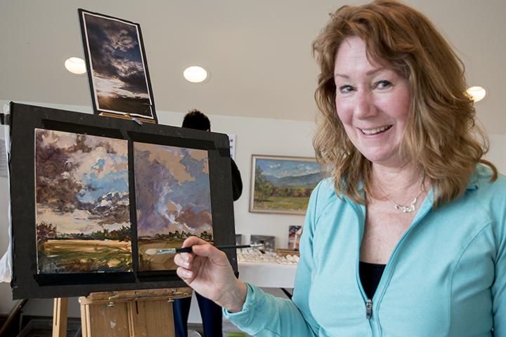 Susan Nicholas in Hameau Studio