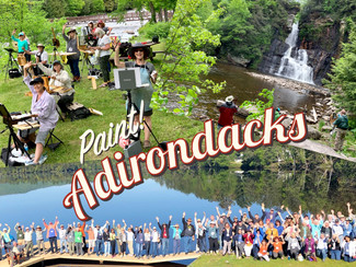 2019 Publisher's Invitational in the Adirondack Mountains