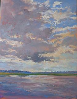 Chincoteague Merritt Harbor Sky