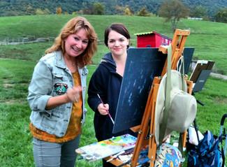 Hameau Artist Retreats were Featured in PleinAir Today