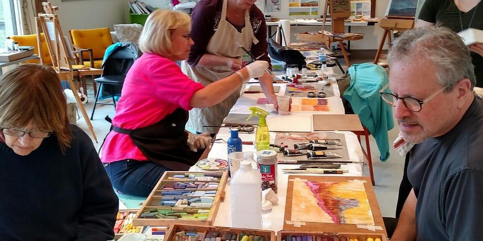 May 2021 Hameau Farm Studio Artist Retreat
