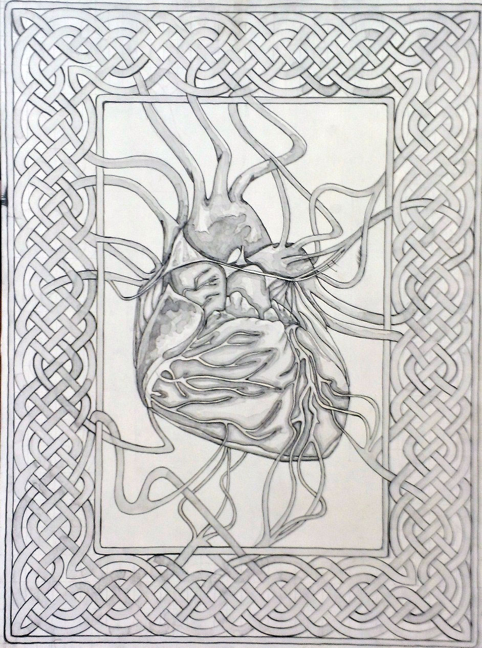 Celtic Heart - Sold