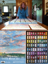 Introducing the SNicholas Signature 80 Hand-Rolled Soft Pastel Set by Jack Richeson