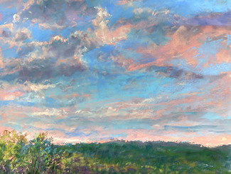 """Tranquil Sunset"" Featured in OutdoorPainter.com Article"