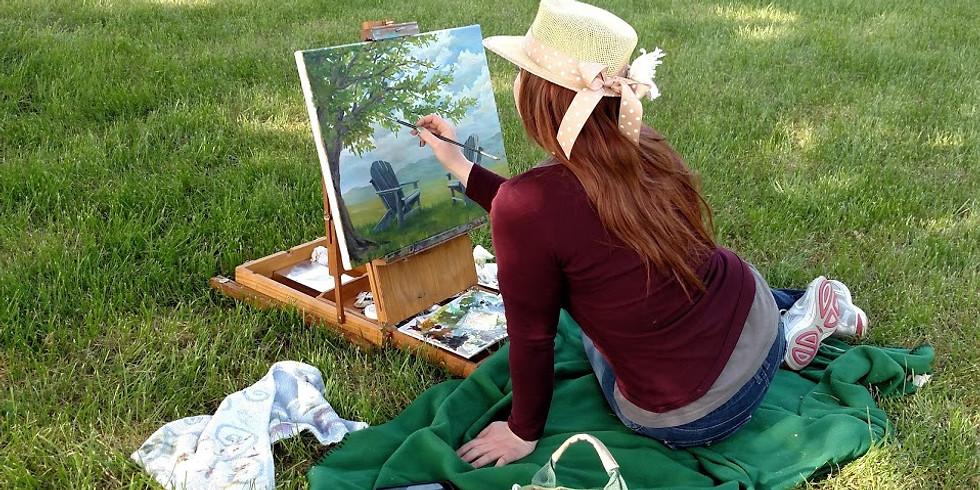 September 2020 Hameau Farm Studio Artist Retreat