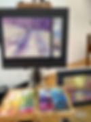 LederEasel_Pastel Demo by Susan Nicholas