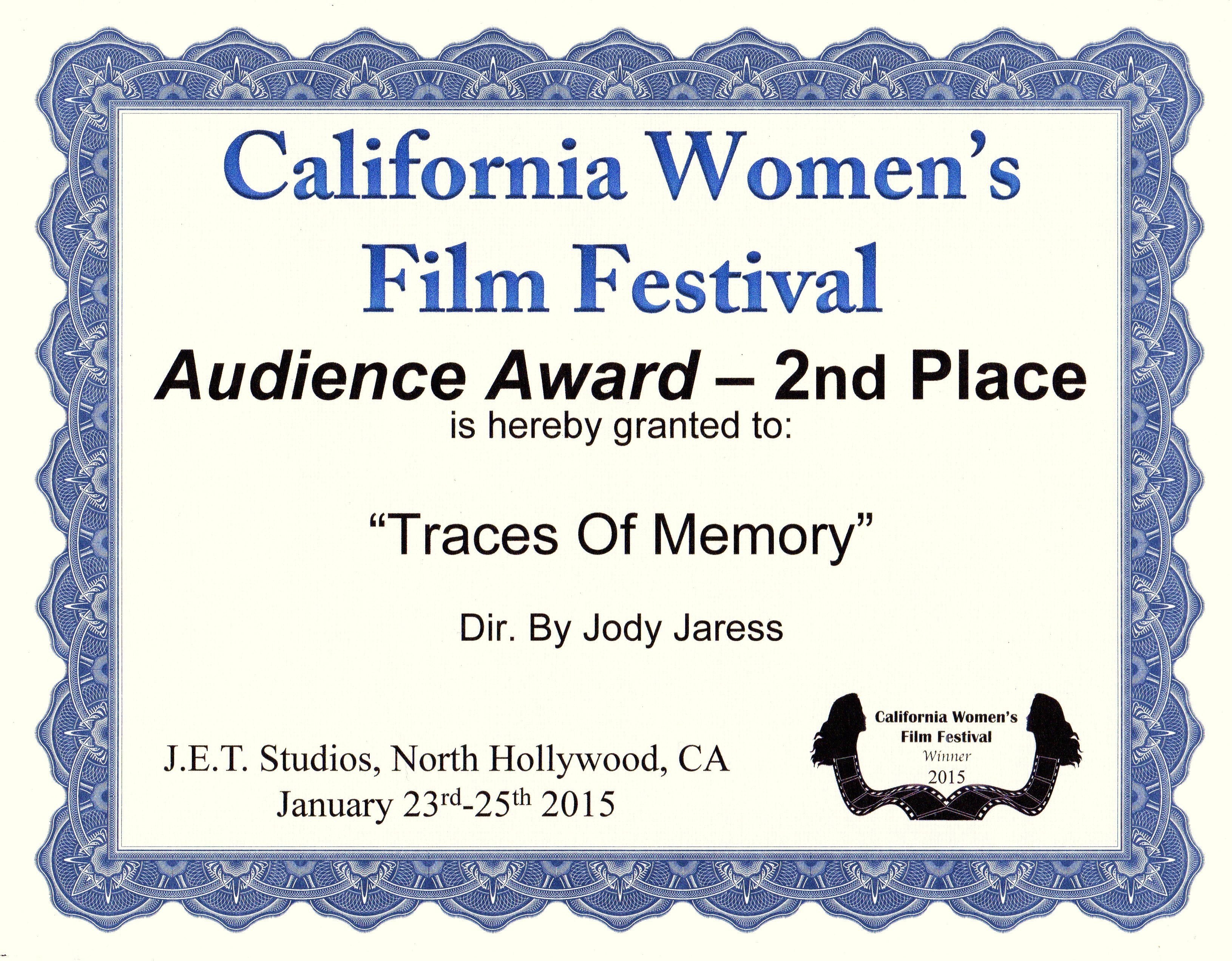 California Women's FilmFestival 2015